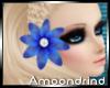 AM:: Blue Hair Flower