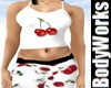 Curvacious Cherry PJs