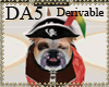 (A) Adopt A Pirate Dog