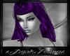 purple telah hairs