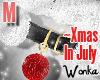 W° Xmas In July Bell .M