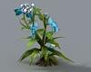 (ED1)Blue Flowers