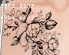 C;  Flowers Tattoo