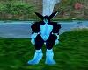 Bunny Feet Blue M
