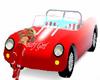 Posing car