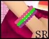 [SR] Colourful bracelet