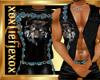 [L] Black WOLF Vest M