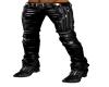 CW Black leather Pants