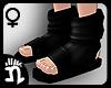 (n)Ninja Sandals 8 Black