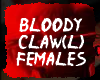 Left Bloody Claw