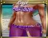 Purple Twist Bikini~L