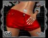 *CK Red Jean Skirt bmxxl