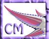 [CM] Pink-white Dual ear