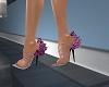 B's pink heels