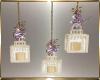 Purple Wedding Lamps