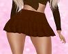 Chelsea Brown Skirt