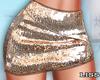 J | Gold Glamour Skirt