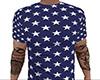 USA Flag Stars Shirt (M)