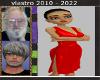 (V)Harley Red Deco Dress