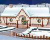 {MDF}Liz christmas house