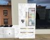 Char marble fridge