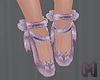 STEELO Mauve Ballet Shoe