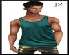 [JR] Muscle Tank Teal