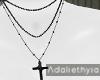 Valerie | Cross Necklace