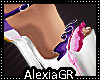 [A] Mia Purple Platforms
