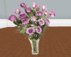 pm1 clear vase roses