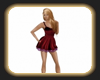 Caz red dress
