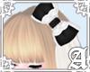 Veil Princess Bow~ B/W