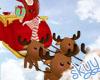 ❤ Kids Santas Sleigh