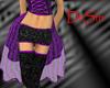 Purple Burlesque Skirt