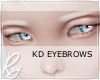 Korean Eyebrows - White