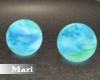 !M! Blue Glow Ball Seats