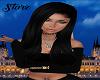 Freya Black Silk