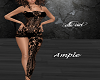 Blk Lace Bdysuit -Ample