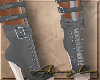 GREY SEXY BOOTS
