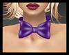 PVC Bow Purple