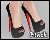BLACK red heels