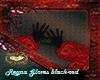 reyna gloves black-red