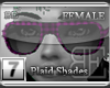 [BE]PurplePlaid ShadesF