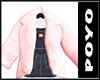 Fuwafuwa Fur Coat-Pink
