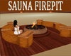 SAUNA  FIREPIT/BENCH