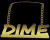 Gold Dime Chain