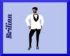Menz White Tuxedo