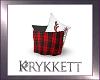 K! Winter Pillow Basket