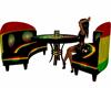 Reggae club table set