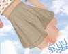 ❤ Kids Tan Skirt